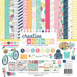 "CREATIVE AGENDA COLLECTION KIT 12""X12"" Echo Park"