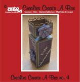 Fustella scatola Crealies 115634/2004