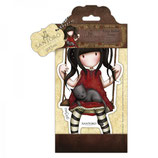 LARGE RUBBER STAMP SANTORO - RUBY - GOR907251