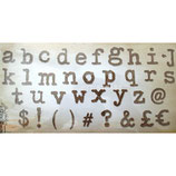 ALPHABET XL LOWER BY TIM HOLTZ 661176