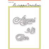 Fustella Coppia Creativa S4 AUGURI-A-TE