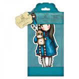 LARGE RUBBER STAMP SANTORO - HUSH LITTLE BUNNY - GOR907250