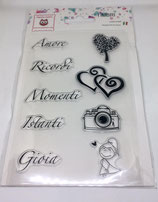 Clear Stamps Sentimenti CST06