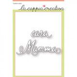 Fustella Coppia Creativa S19 Cara Mamma