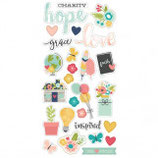 Simple Stories - Chipboard - FAITH SS7715