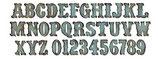 ALFABETO XL VINTAGE MARKET 658772