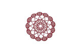 Fustella Sizzix Thinlits Die - Antique Doily Samantha Barnett 661720