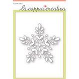 Fustelle Coppia Creativa F14 Fiocco di Neve