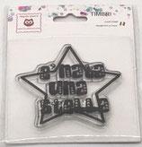 "Clear Stamps""E' nata una stella"" CST16"