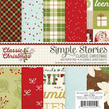 "CLASSIC CHRISTMAS  6X6 PAPER PAD  ""SS7322"""