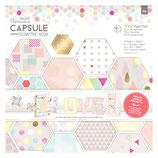 "Paper Pack 12""x12"" Capsule Geometric Neon"