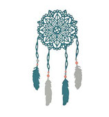 Fustella Thinlist Die Set Boho Dreams 661681