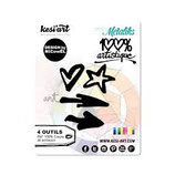 "FUSTELLA KESI' ART ""100% BRUSH STROKES"" OD-312"