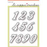 Fustelle Coppia Creativa F20 Numeri Cuciti