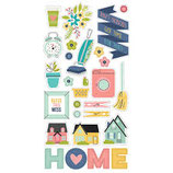 Simple Stories - Chipboard - Domestic Bliss SS7814
