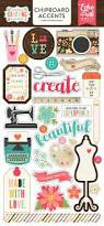 Echo Park - Chipboard - I'd Rather Be Crafting EPIBC138022