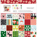 "Carta ""American Crafts"" 340491 Merry Bright"
