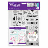 Clear Stamp Set- Capsule- Geometric Neon DCE907102
