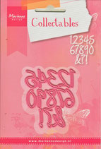 Fustella Marianne Designe COL1405 Numeri