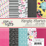"LOVE & ADORE PAPER PAD ""SS7614"""