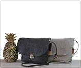 Pinatex Tasche EMMI / Umhängetasche in Schwarz oder Grau