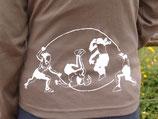 T-shirt manche longue kaki