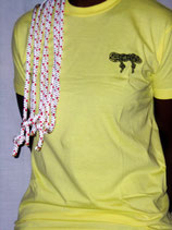 """t-shirt homme """"freestyle"""" jaune taille S"""