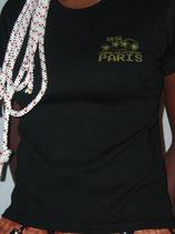 """T-shirt femme """"IDDC2007"""" noir"""