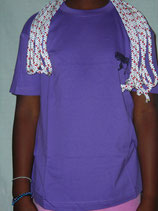 """t-shirt homme """"freestyle"""" violet taille XS"""