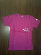 "T-shirt femme ""IDDC2009"" rose"