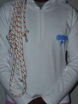 T-shirt manche longue blanc taille L