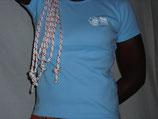 """T-shirt femme """"love"""" bleu"""