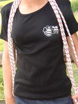 """T-shirt femme """"love"""" noir"""
