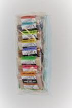 mini Seifen Set Scrub Soaps - 8 verschiedene hochwertige Seifen á 25g
