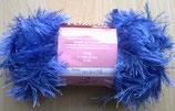 1/2 kg = 500 g Fransengarn Fransenwolle blau 249