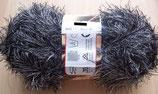 ANGEBOT 1 kg Fransengarn Fransenwolle s/w 232