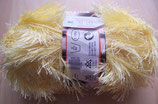 1/2 kg=500 g  Fransengarn Fransenwolle hellgelb 219