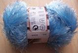 1/2 kg = 500 g Fransengarn Fransenwolle hellblau 214