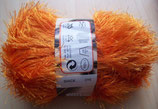 1/2 kg = 500 g Fransengarn Fransenwolle orange 256