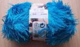 1/2 kg = 500 g Fransengarn Fransenwolle blau 253
