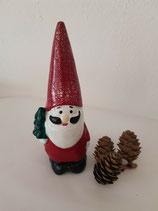 DEKO Weihnachtsmann 12 cm
