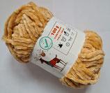100 g Chenille  Baby Wolle Velours hellbraun