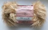 1 kg Fransengarn Fransenwolle braun 1244