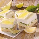 Zitronen-Creme-Schnitte