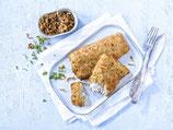 """Fischfilet """"Käse und Röstzwiebeln"""