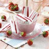 Joghurt Erdbeer Stiel