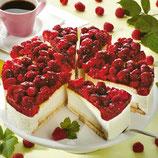 Himbeer-Käse-Obers Torte