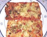 Diavolo-Pizzaschnitte