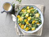 Gemüse in Käse-Rahm