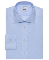 Model Madrid - Bügelfrei Hemd -  Extra Slim Fit - Blau